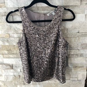 Lovers + Friends Sequined Tank top